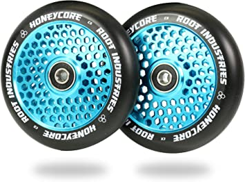 Amazon.com: Honeycore - Ruedas para patinete (4.331 in, 2 ...