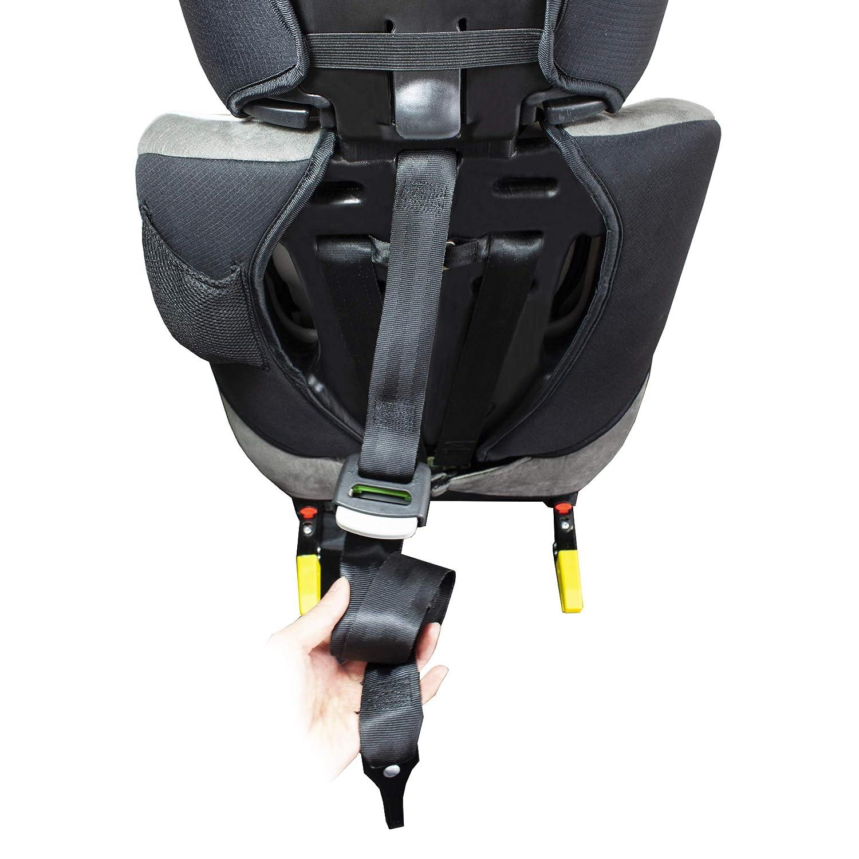 XOMAX XL-518 Silla de coche con ISOFIX I creciendo con usted I 9-36 kg 1-12 a/ños grupo 1//2//3 I Arn/és de 5 puntos y arn/és de 3 puntos I Funda desmontable y lavable I ECE R44//04 I gris//negro