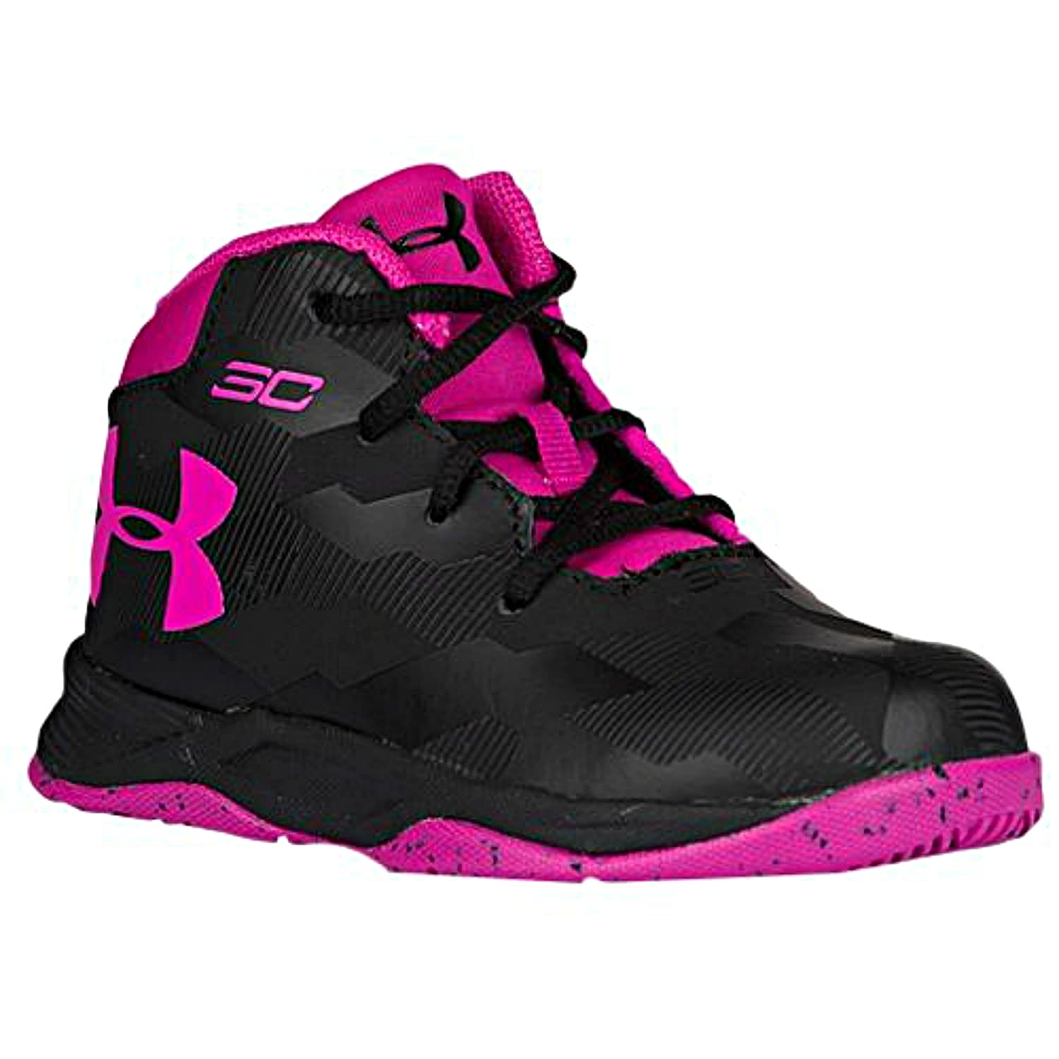 Under Armour Infant Baby Girls Toddler Curry 2 Basketball Shoes Fashion Sneakers