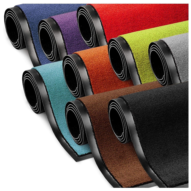 ETM Dirt Trapper Entrance Mat | Non Slip | Many Sizes & Colours Available | Brown - 40x60cm