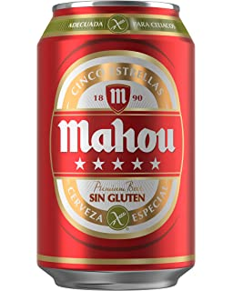 Cerveza Estrella Galicia Sin Gluten-24Unidades de 33Cl ...