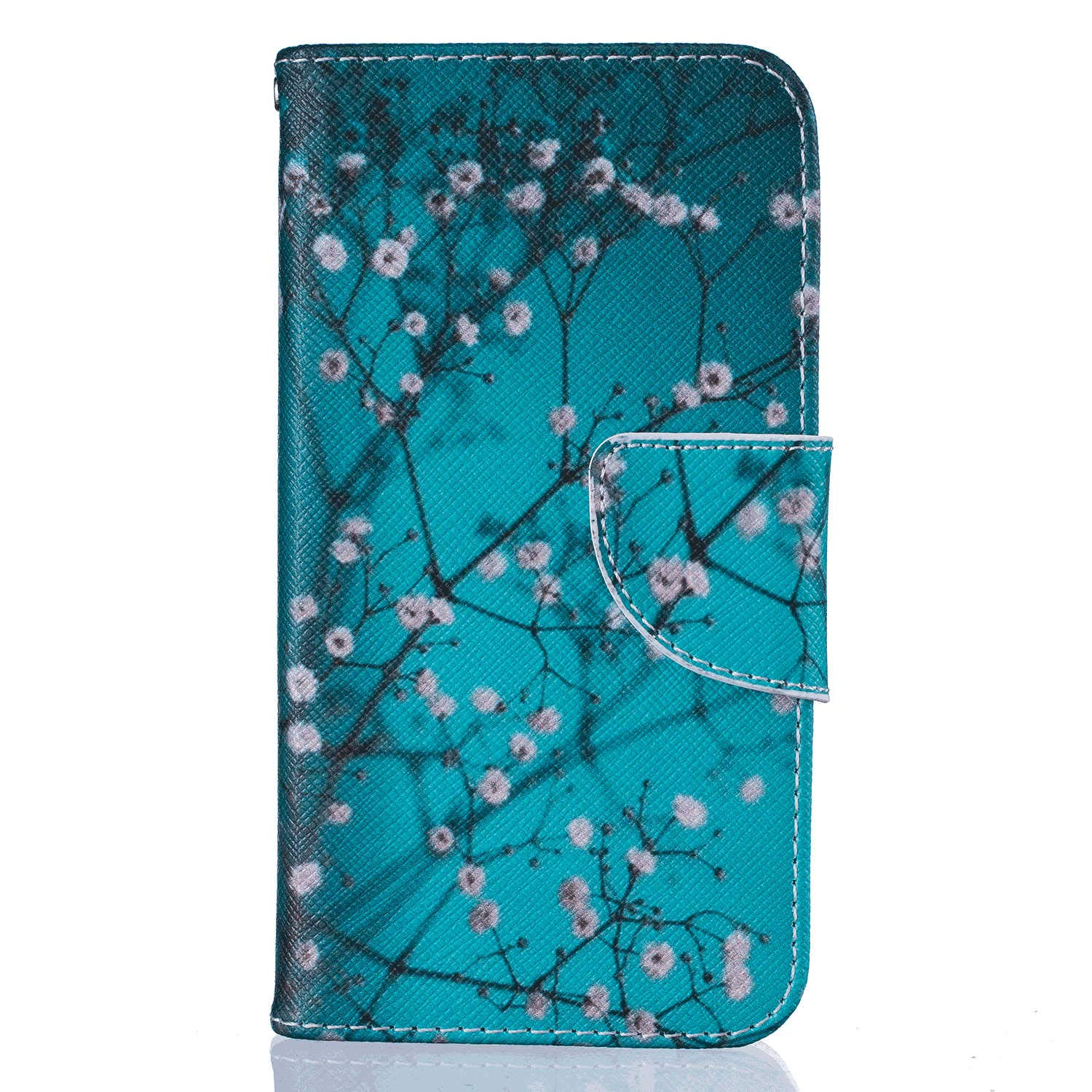 Stylish Cover Compatible with iPhone X Deer Leather Flip Case Wallet for iPhone X