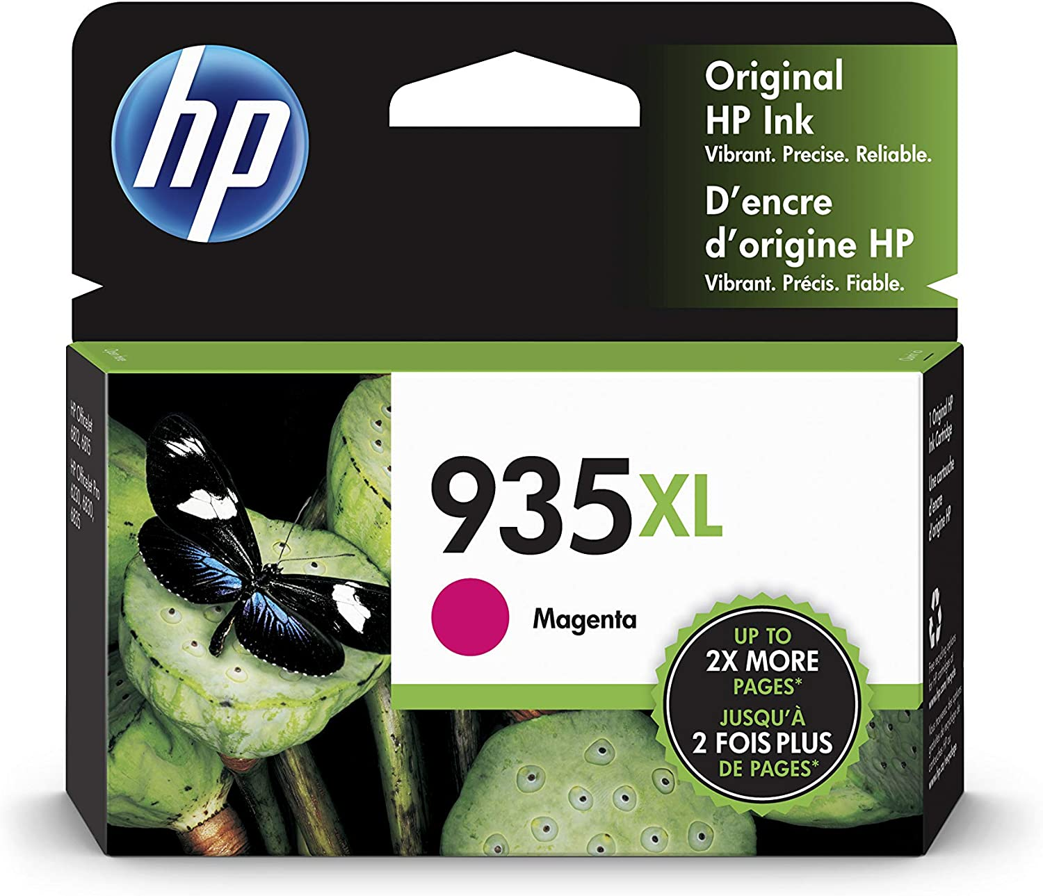 HP 935XL | Ink Cartridge | Magenta | C2P25AN