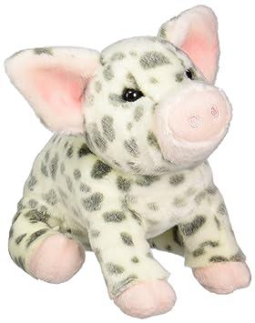 Douglas Cuddle Toy Pauline - Cerdito con manchas de peluche