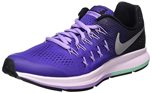 834317-500, Zapatillas de Trail Running para Mujer, Morado (Dark Iris/Metallic Silver-Black), 38 EU Nike