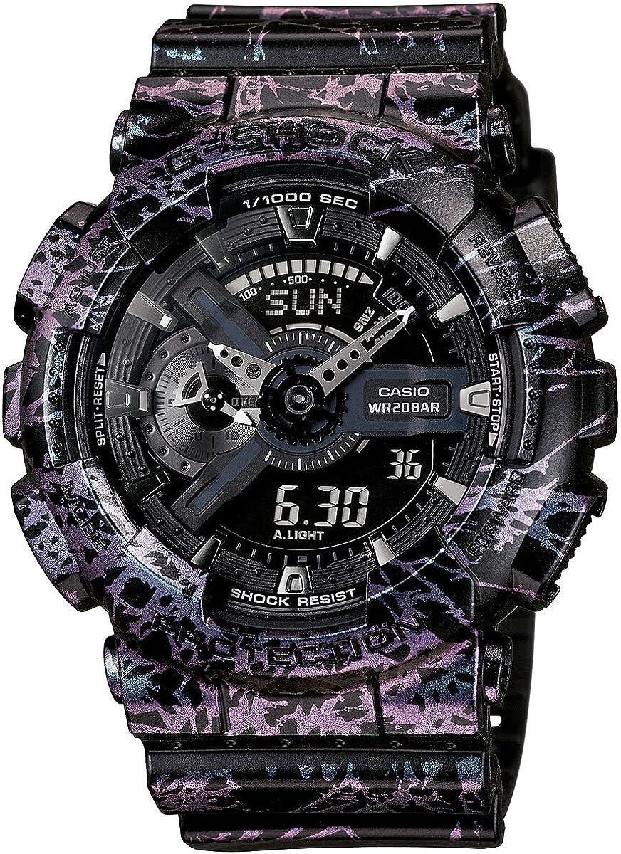 G-Shock GA-110PM-1 Heathered Series Designer Watch – Black One Size