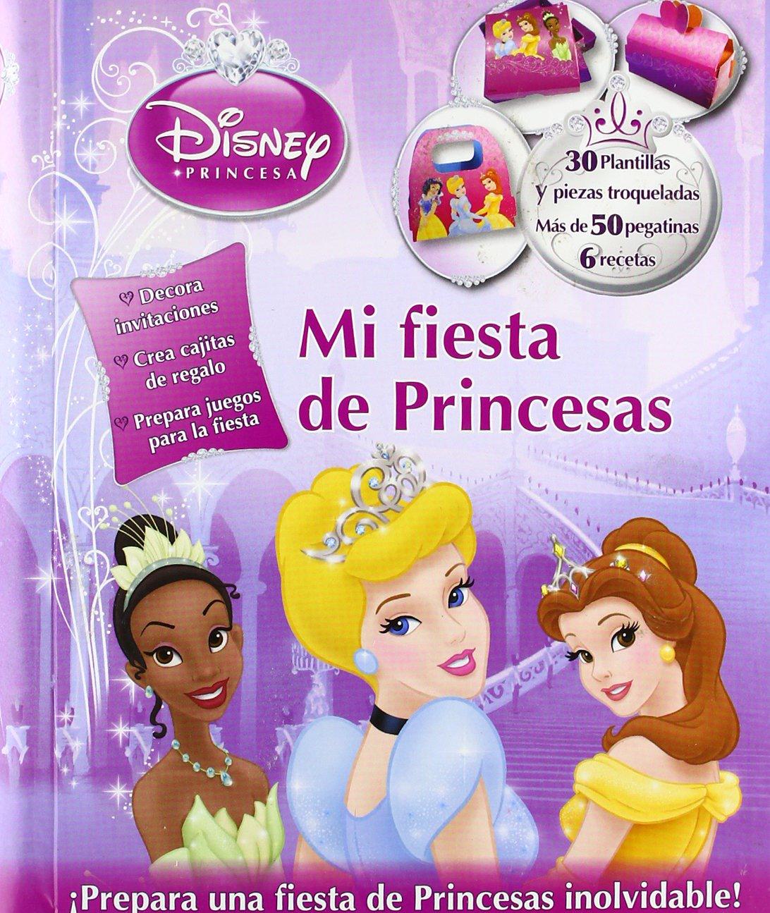 Princesas. Mi fiesta de princesas (Spanish) Hardcover – November 13, 2012