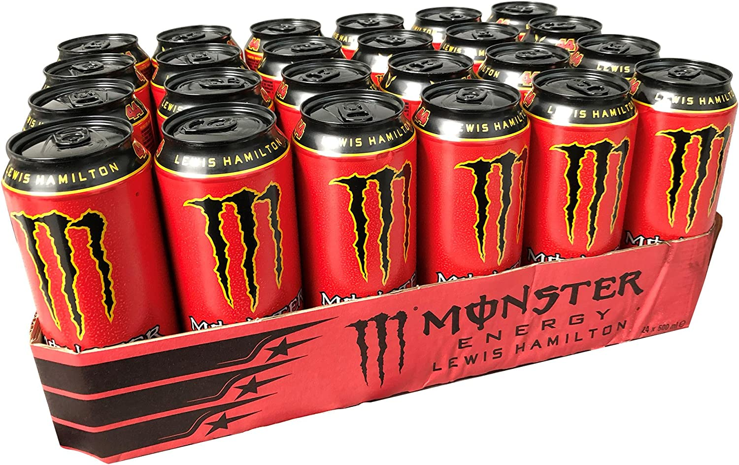 Monster Lewis Hamilton 50cl (pack de 24): Amazon.es: Alimentación ...
