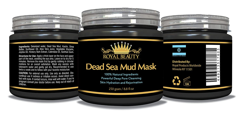 Royal Belleza del mar muerto Tratamiento máscara de barro facial: Amazon.es: Belleza