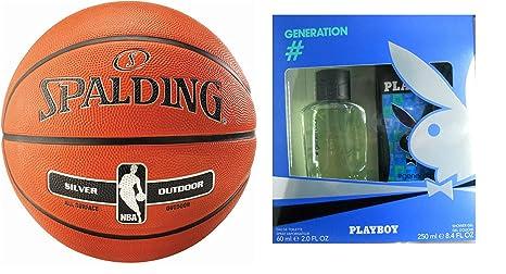 Spalding NBA Silver - Balón de baloncesto para exterior ...