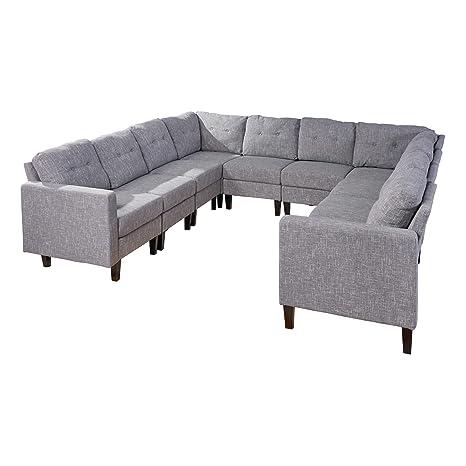 Marsh Mid Century - Juego de sofá seccional en Forma de U ...
