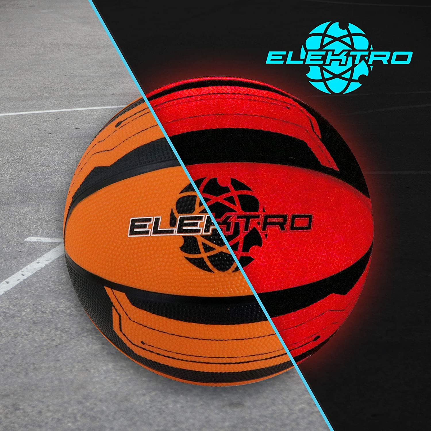 Baden Elektro Light Up LED Basketball (Official Size 7)