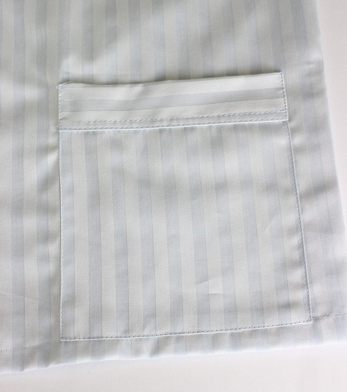 PROFILI DI TOSCANA.Pigiama Uomo Stoffa,Made in Italy,Taglie Forti,100/% Cotone,Aperto con Bottoni,Art.Leo