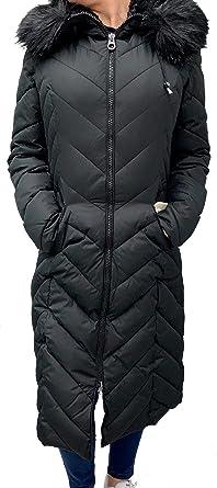 6cc81b7f5e7 Laundry by Shelli Segal Faux-Fur-Trim Down Hood Puffer Coat Jacket (Medium