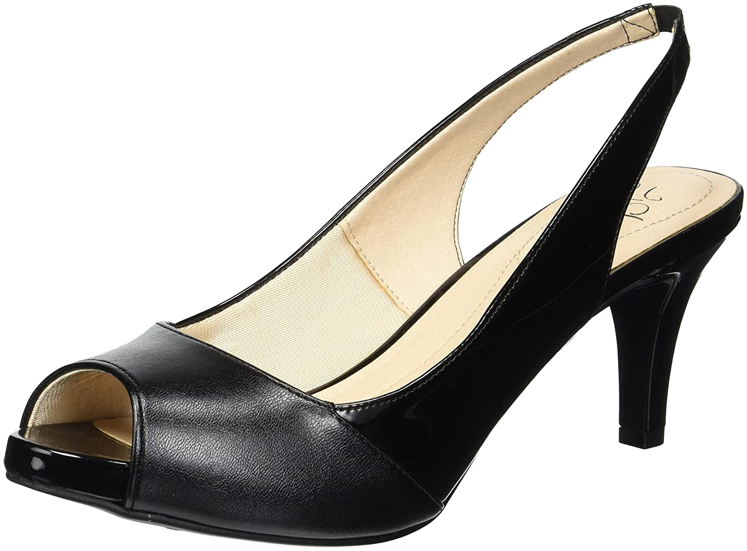 LifeStride Women's Tannis Pump B077633M6V 10 W US|Black