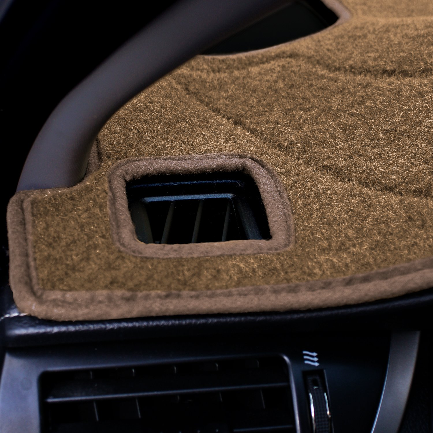Poly Carpet Coverking Custom Fit Dashcovers for Select Dodge Ram 1500 Models Gray CDCP3DG100