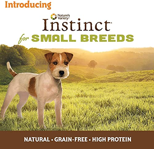 Nature s Variety Instinct Small Breed Grain Free Dog Food – 2 Flavors Chicken Beef – 3oz Each 12 Total Cans