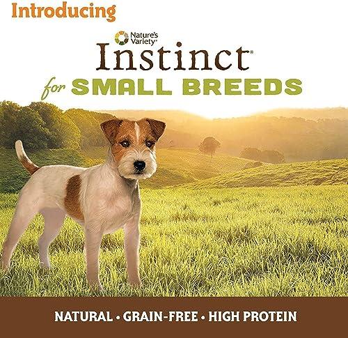 Nature's Variety Instinct Small Breed Grain Free Dog Food