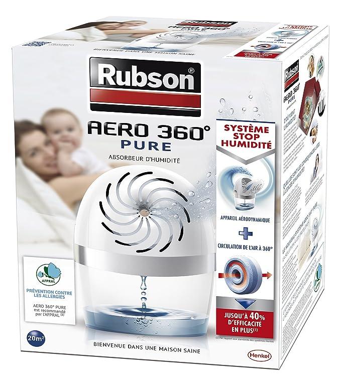 Rubson Aero 360 Pure - Deshumidificador (20 m²), color blanco: Amazon.es: Hogar