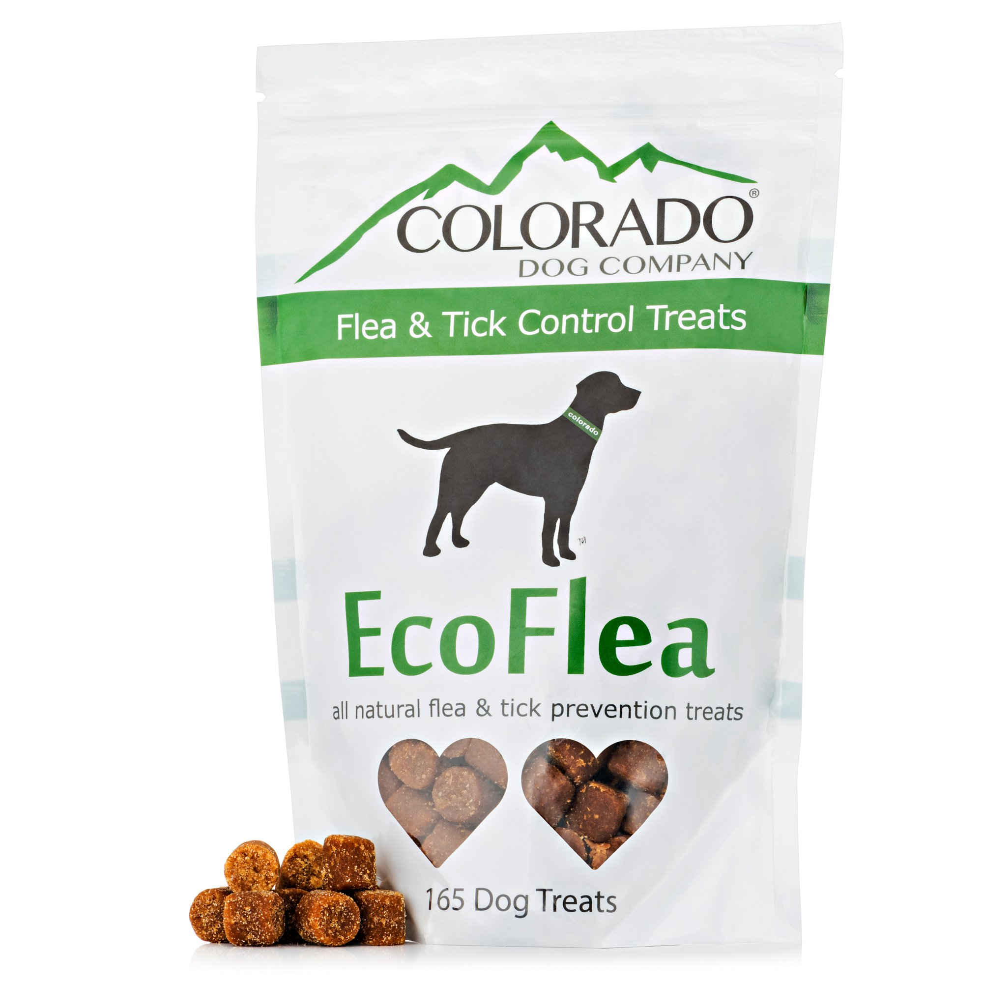 EcoFlea by ColoradoDog Treats - The All Natural Flea & Tick Prevention Dog Treat