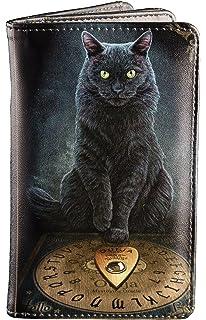 Fantasy Geldbeutel Hexe Geldbörse mit schwarzer Katze The Witching Hour