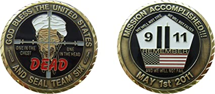 911// Bin Laden coin