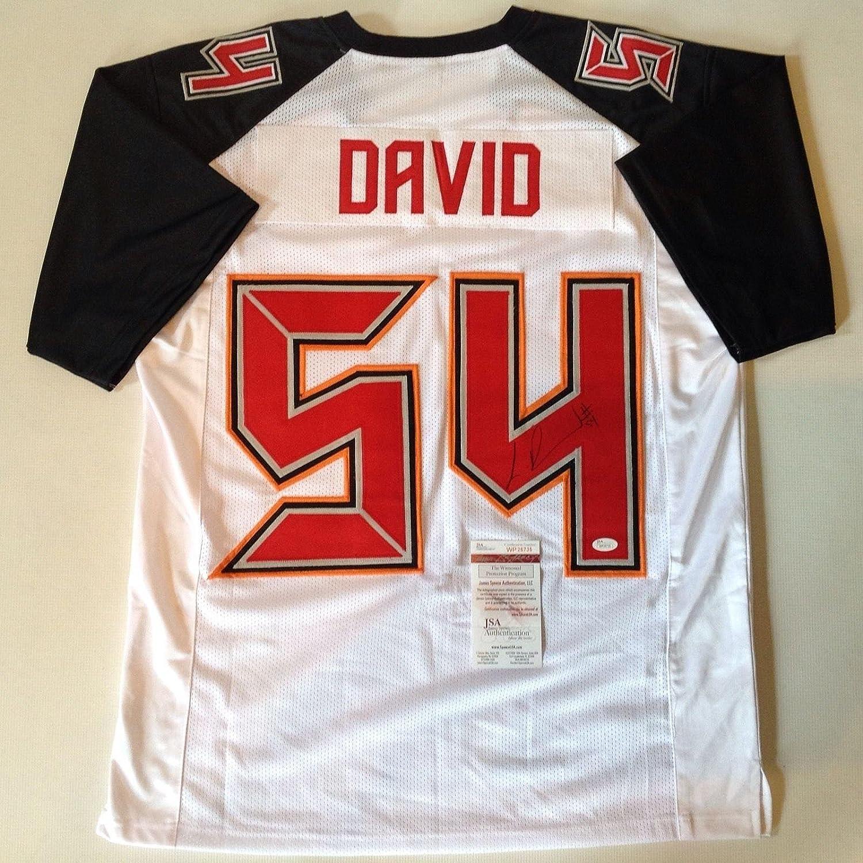 official photos 9b6a1 87a9a Lavonte David Autographed Jersey - White !!! - JSA Certified ...