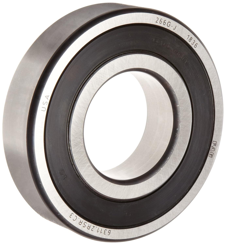 FAG 63042RSR caoutchouc étanche Deep Groove Ball Bearing 20x52x15mm