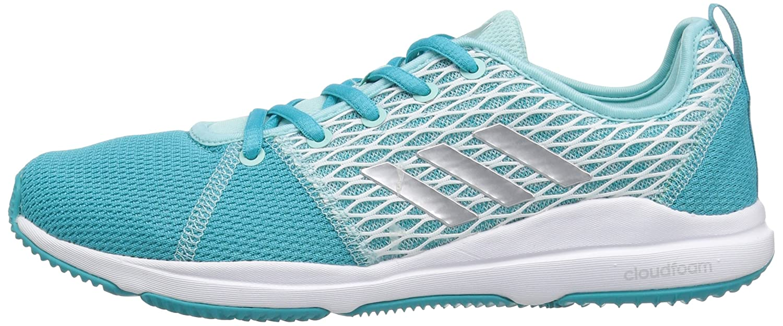 Adidas Arianna Cloudfoam Damen Damen Cloudfoam Energy Blau/Metallic Silver/Ocean 43cf38