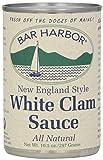 Bar Harbor All White Clam Sauce, 10.5 Ounce