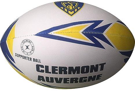 Clermont Auvergne de balón de Rugby Oficial - Gilbert - Talla 5 ...