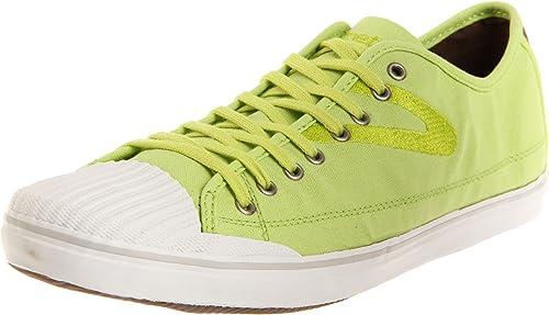 Size 9.5 M Tretorn Men/'s Nylite Plus Canvas Neon Yellow Fashion Sneaker