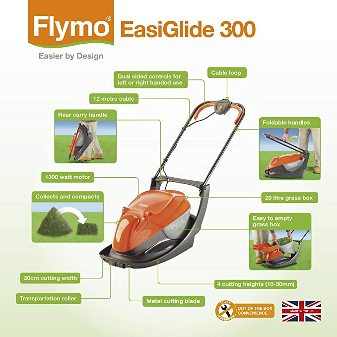 Flymo Easi Glide 300 Electric Hover image 3