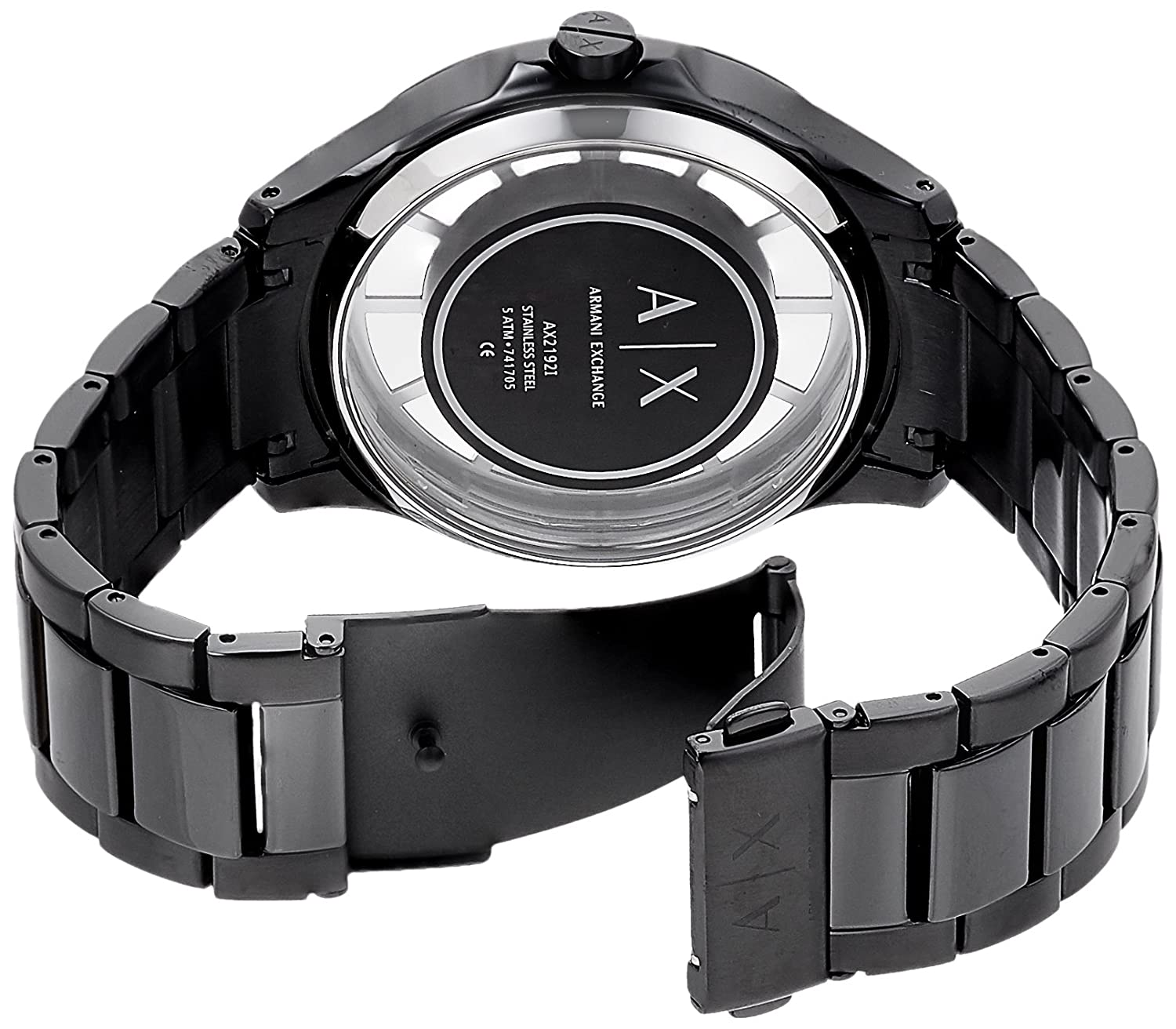 73507fb1628 Buy Armani Exchange Chronograph Black Dial Men s Watch - AX2192I Online at Low  Prices in India - Amazon.in