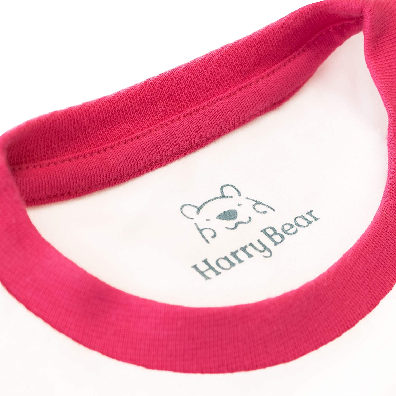 Harry Bear Girls Flamingo Short Pyjamas