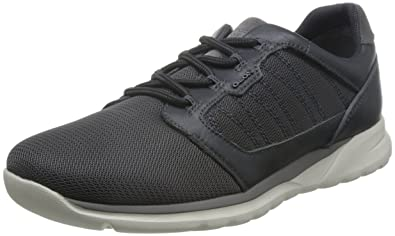 5da5cbc0982a4f Geox U Damian A, Sneakers Basses Homme, Gris (Anthracitec9004), 40 EU