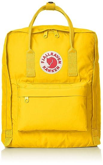 1d93cbfc Amazon.com | Fjallraven Kanken Classic Backpack One Size Warm Yellow ...