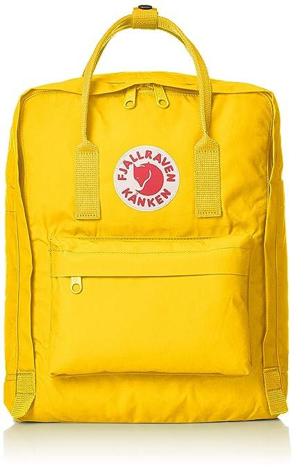 oficjalna strona najnowszy Data wydania Fjallraven Kanken Classic Fabric Backpack - Warm Yellow