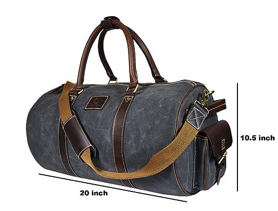 Amazon.com   Canvas Duffle Bag   Travel Duffels 3b0f610d06