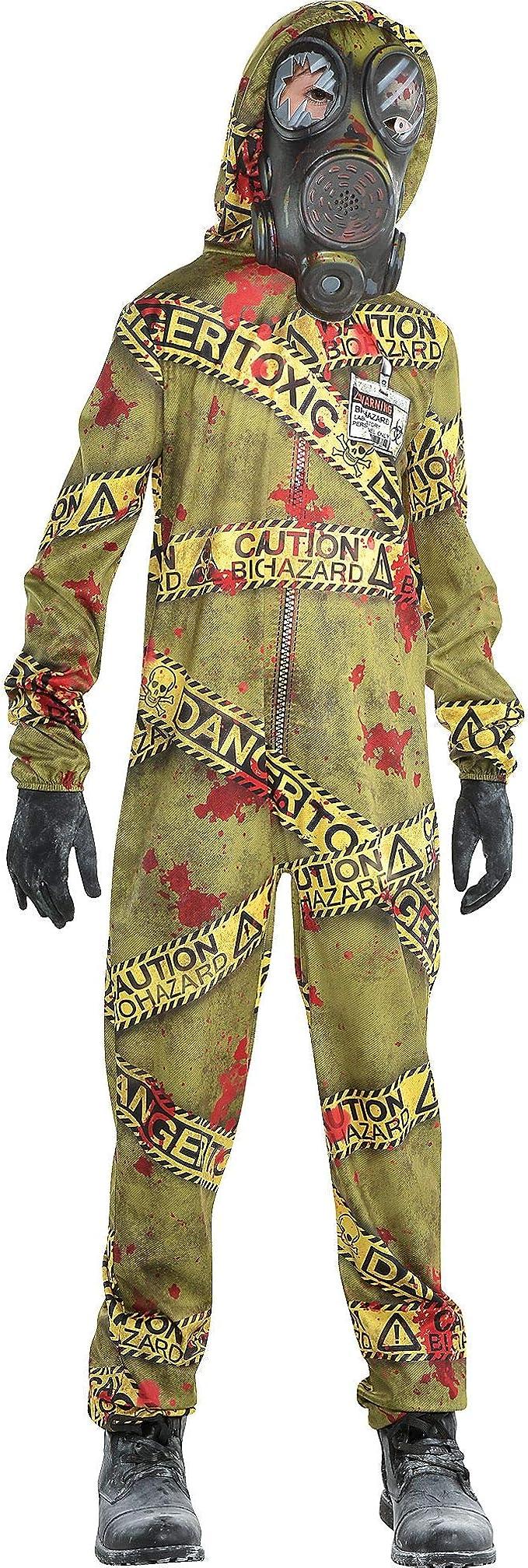 Amscan - Disfraz de zombi de cuarentena para Halloween - Multi ...
