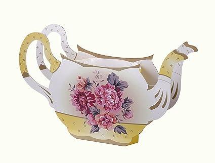 Amazon Talking Tables Truly Scrumptious Floral Vintager Teapot