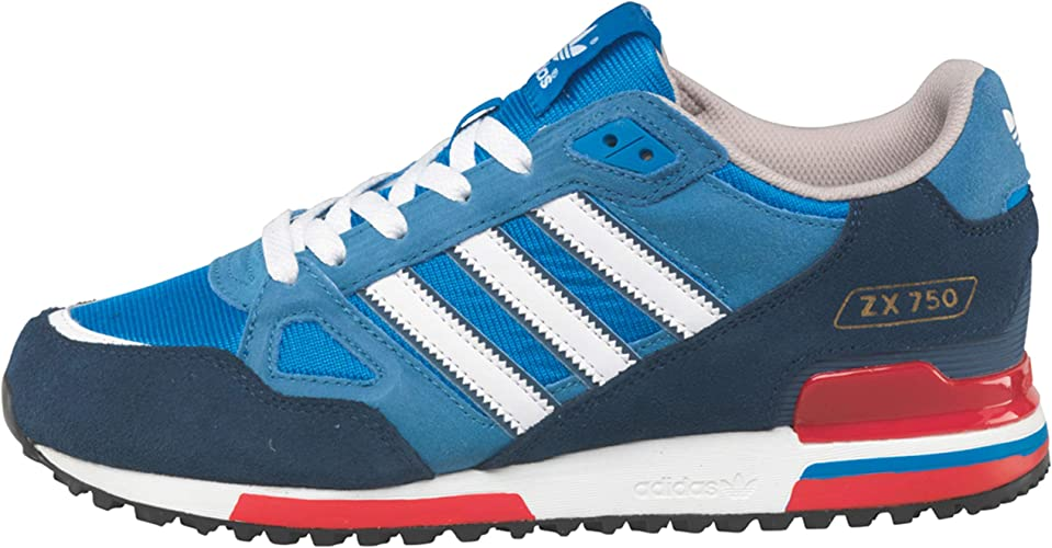 adidas New Mens/Gents Blue/White