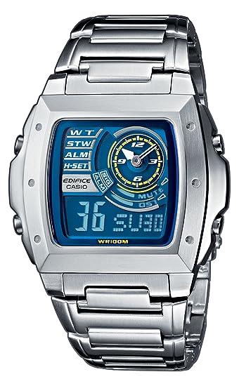 Casio EFA-123D-2AVEF - Reloj analógico - digital de caballero de cuarzo con