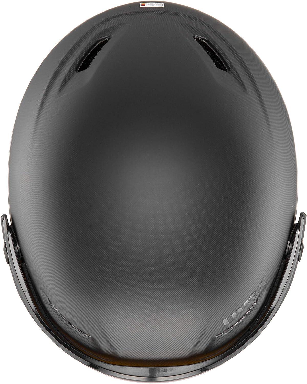 Uvex 700 Vario Casque de Ski Mixte Adulte Noir 55-59 cm