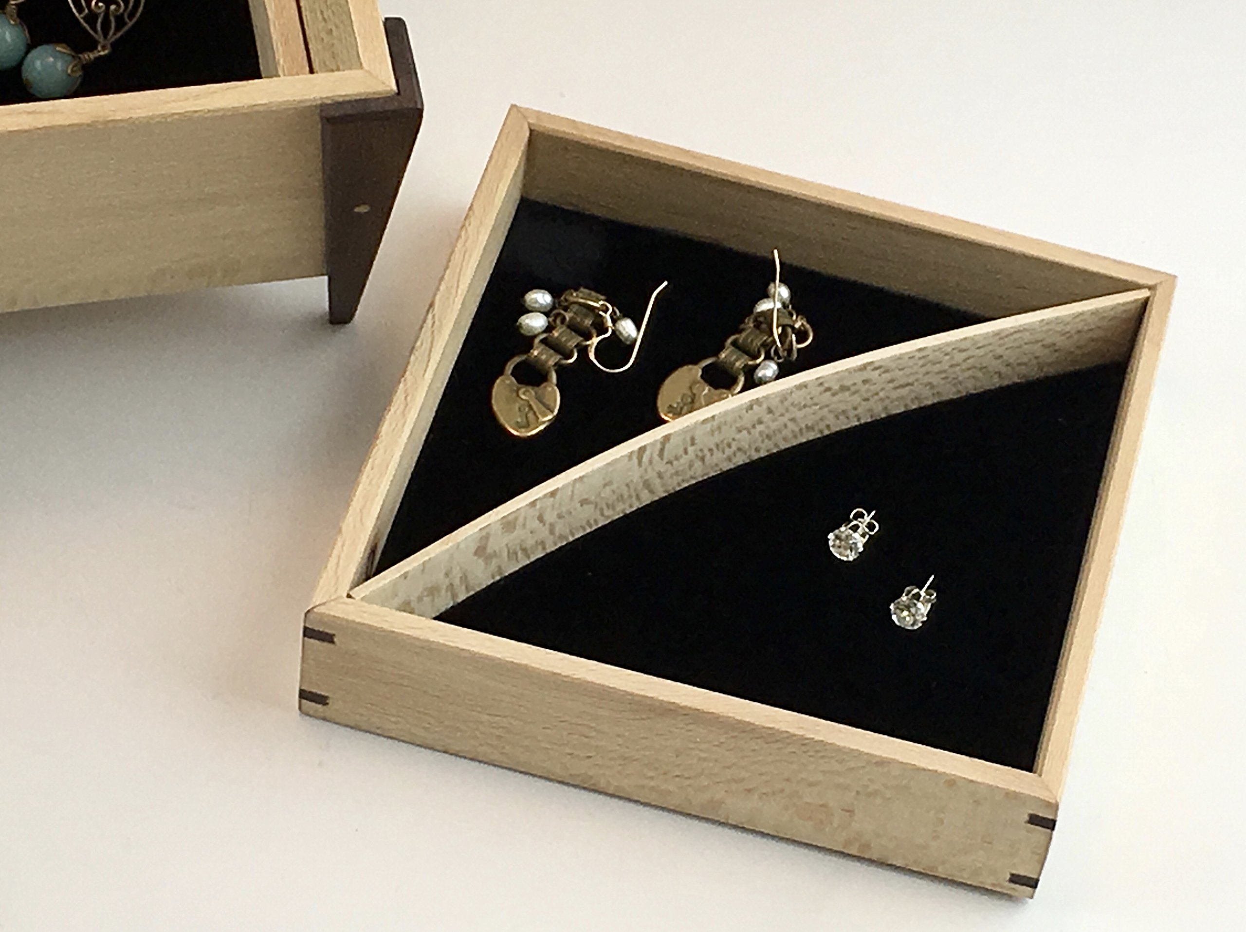 Small box with trays