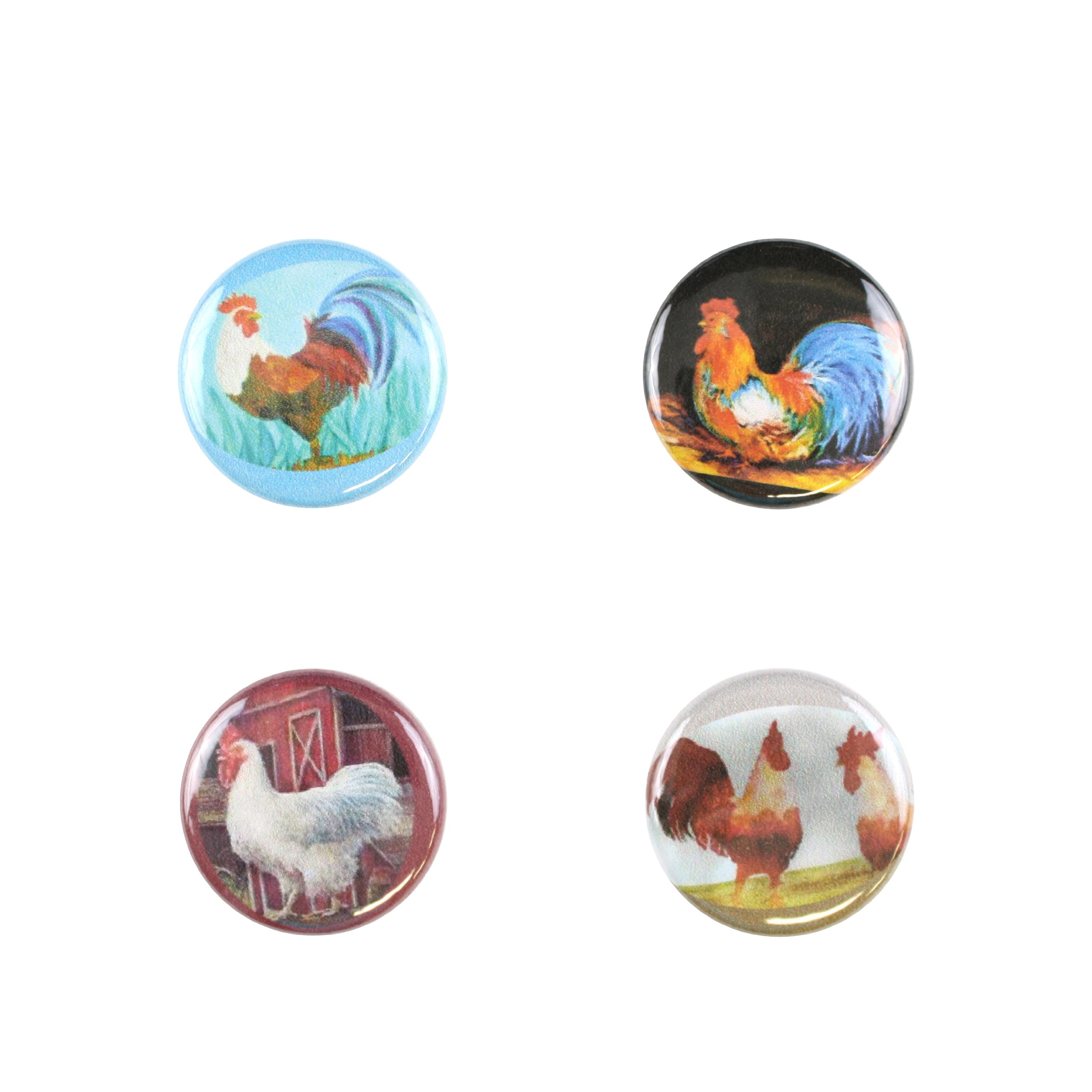 Il Bere Wine and Drink Charms Animal Collection, Rooster's Call by Il Bere