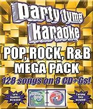 Party Tyme Karaoke - Pop, Rock, R&B Mega Pack (128-song Mega Pack) [8 CD]