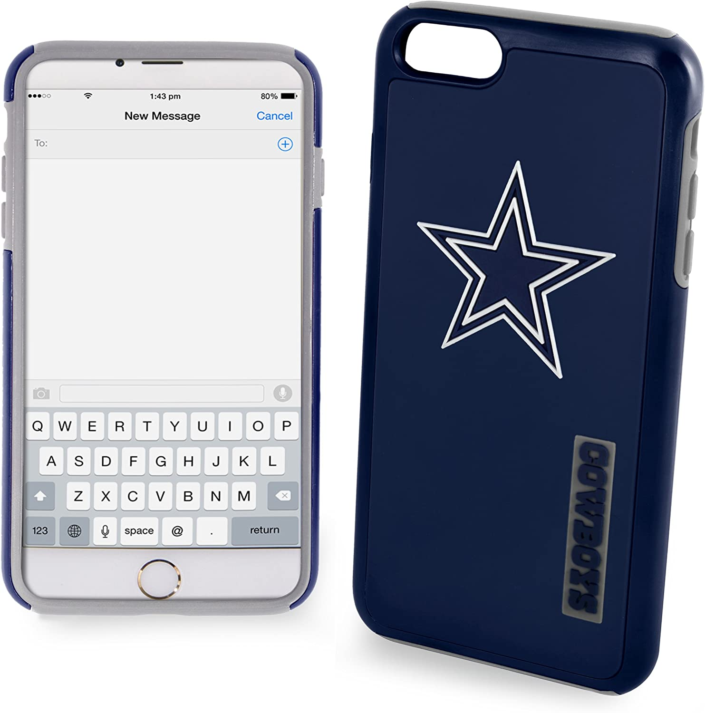 "Dallas Cowboys Impact TPU 2-Piece Dual Hybrid iPhone 8 / iPhone 7 / iPhone 6 / iPhone 6s Case - 4.7"" Screen ONLY"