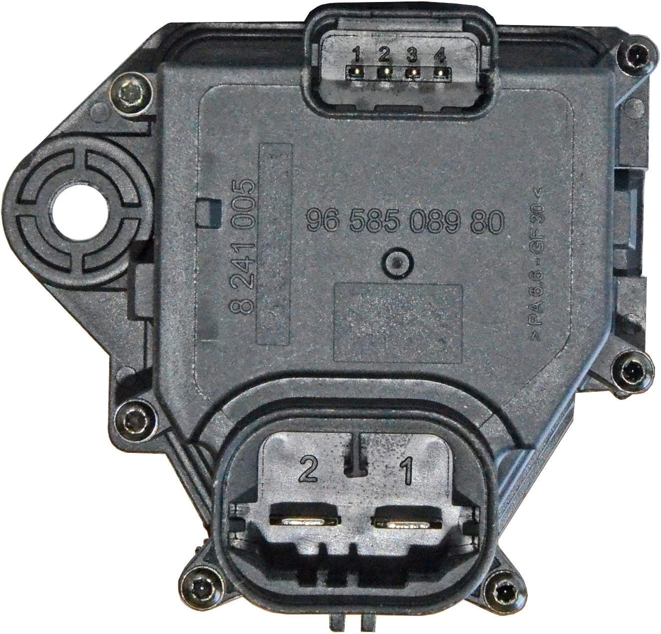 PEUGEOT 207 2006-NUOVA Ventola Di Raffreddamento Del Radiatore Resistore Relè 9658508980