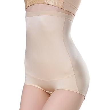 75fab67168b3 MUKATU Ultra Thin High Waist Shaping Panty Firm Tummy Control Shapewear for  Women Nude